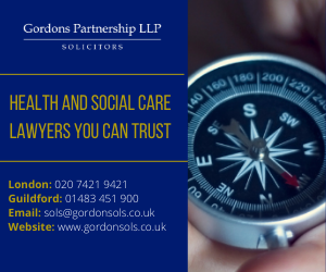 Side advert Gordons Solicitors