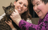 Bringing animals into a care home